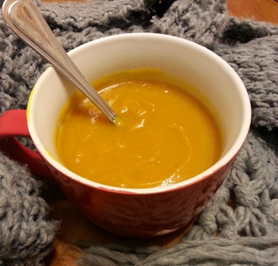 My Roasted Pumpkin Soup