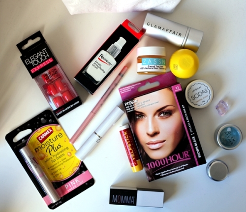 Various other makeup bits from glamour affair