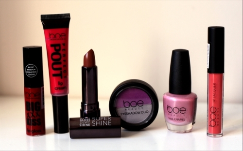 Boe Beauty products from Glamour Affair